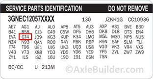 Axle Builder Gm 10 5 Quot 14 Bolt Axle Parts And Upgrades